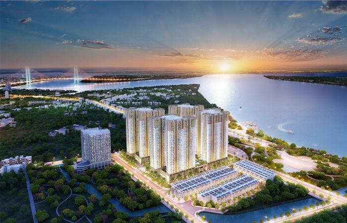 Phối cảnh Q7 Saigon Riverside Complex
