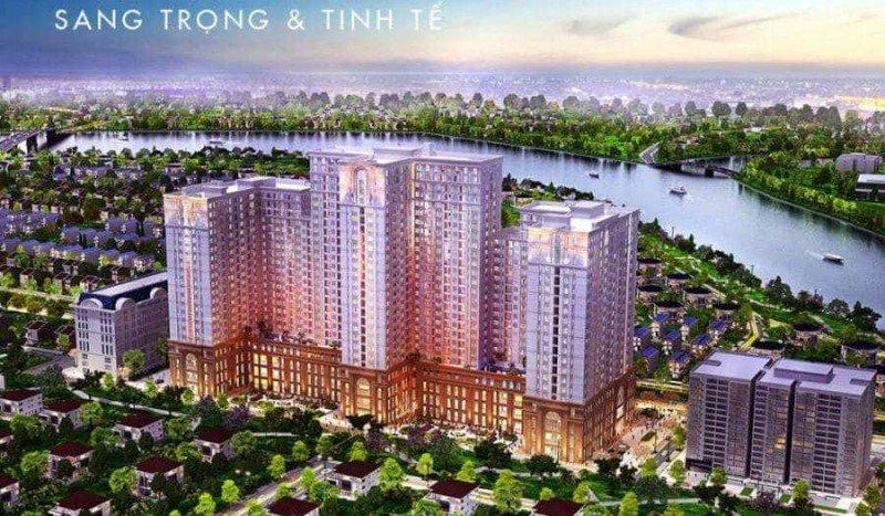 Phối cảnh dự án Saigon Mia